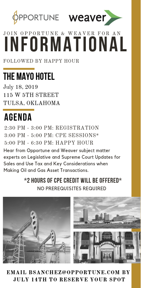 Opportune Weaver Informational Invite_Tulsa
