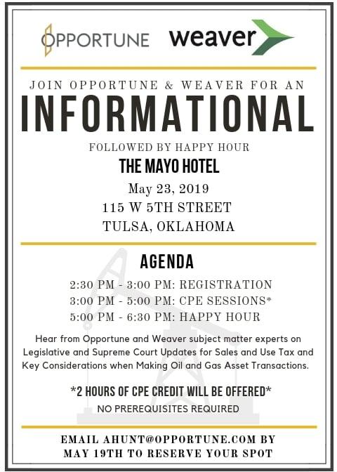 Opportune Weaver Informational Invite_Tulsa